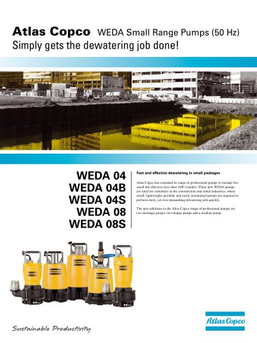 WEDA Small Range Pumps (50hz)