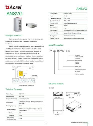 ANSVG: Static Var Generator
