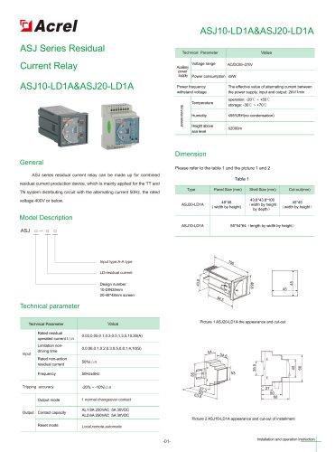 ASJ Series Residual