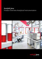 Product Guide Analytical Instrumentation