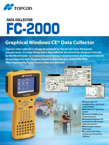 FC-2000  DATA COLLECTOR
