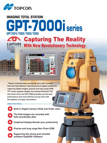GPT-7000i  IMAGING TOTAL STATION