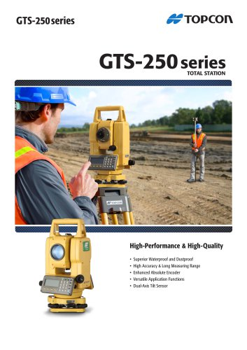 GTS-250 Series Catalogue