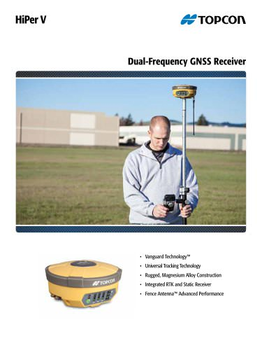 HiPer V  Dual-Frequency GNSS Receiver