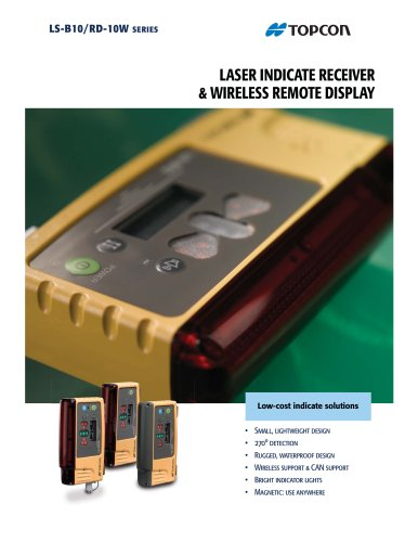 LS-B10 series  LASER INDICATE RECEIVER&WIRELESS REMOTE DISPLAY