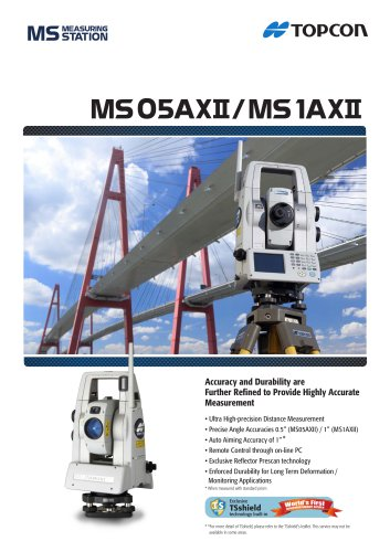 MS05AXII / MS1AXII Catalogue