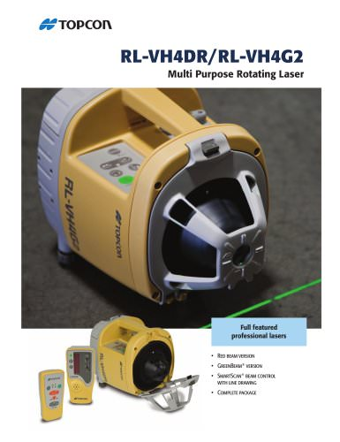 Multi Purpose Rotating Lasers RL-VH4G2/4DR
