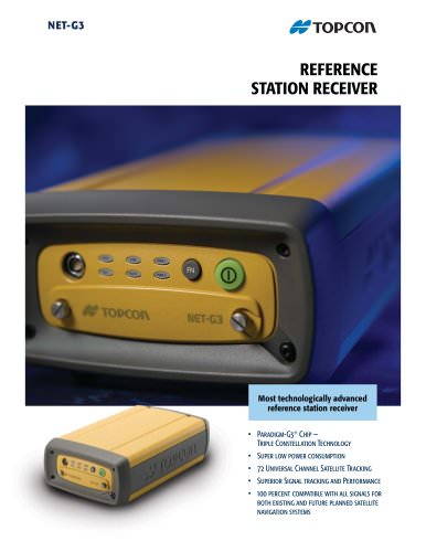 Net-G3 REFERENCE STATION RECEIVER