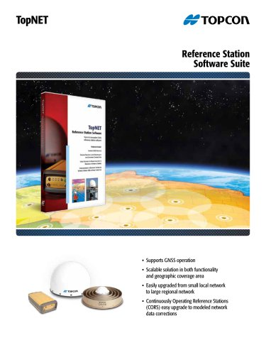 TopNET Reference Station Software Suite