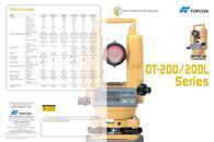 DT-200 series  DIGITAL THEODOLITE