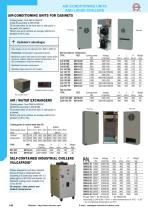R CONDITIONING UNITS AND LIQUID CHILLERS