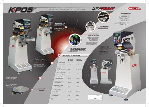 Pad Printing Machine model KP05