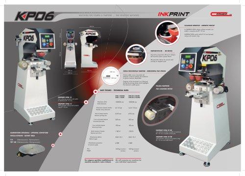 Pad Printing machine model KP06