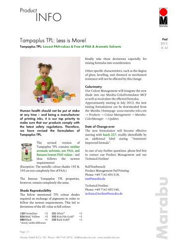 Tampa® Plus TPL