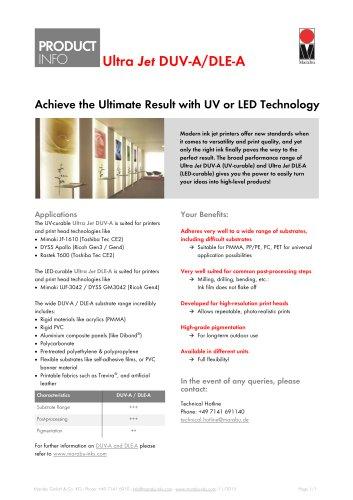 Ultra Jet DUV-A