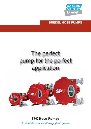 Bredel heavy-duty hose pumps catalogue
