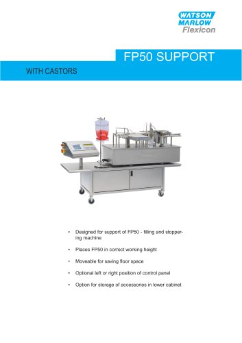 Flexicon FP50 support with casters