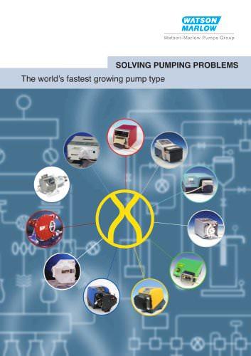 Watson-Marlow pump range brochure
