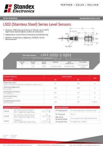 LS02-S Series Data Sheet