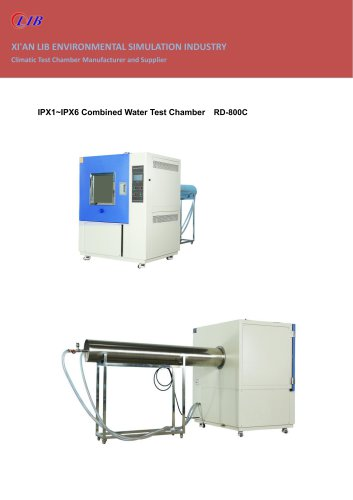 IPX1~IPX6 Combined Water Test Chamber RD-800C