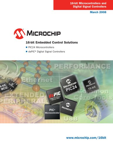 16-bit Embedded Solutions Brochure