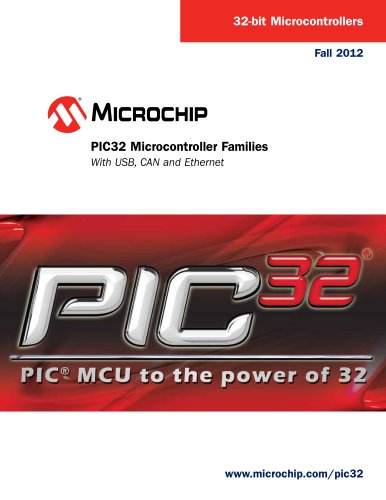 PIC32 Microcontroller Family Brochure