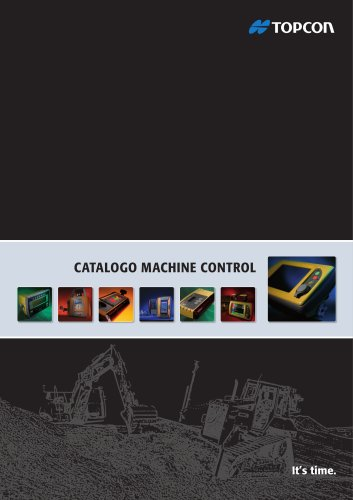 CATALOGO MACHINE CONTROL