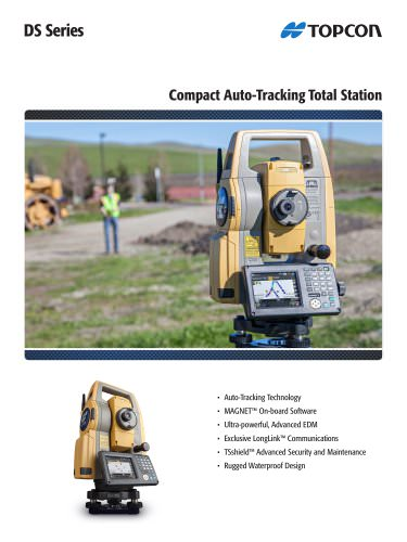 Compact Auto-Tracking Total Station