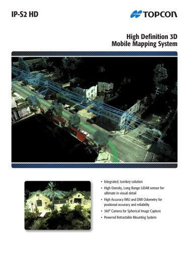 High Definition 3D Mobile Mapping System
