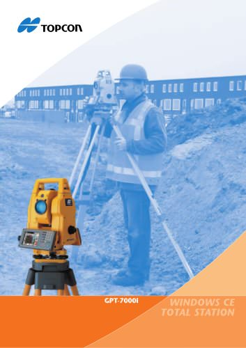 Imaging Total Stations (GPT-7000i Series)