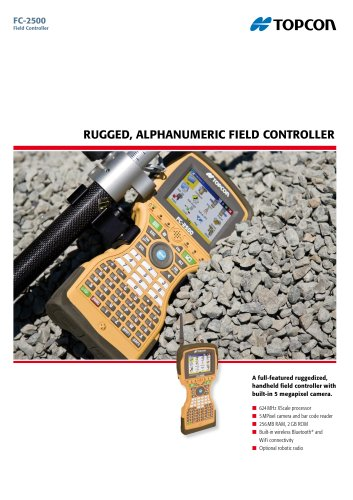 Rugged Alphanumeric Field Controller (FC-2500)