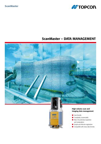 ScanMaster - Data Management