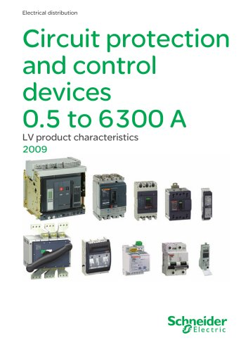 Circuit protection and control devices 0.5 to 6300A