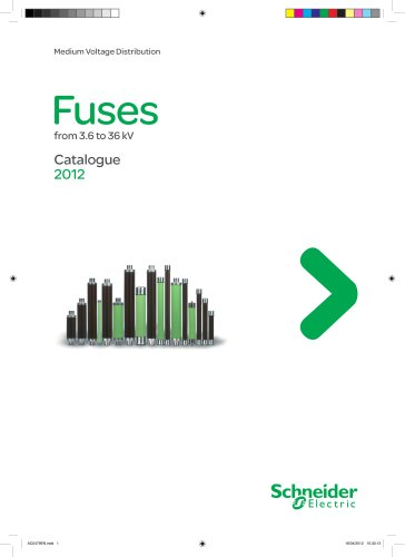 Fuses catalogue 2012