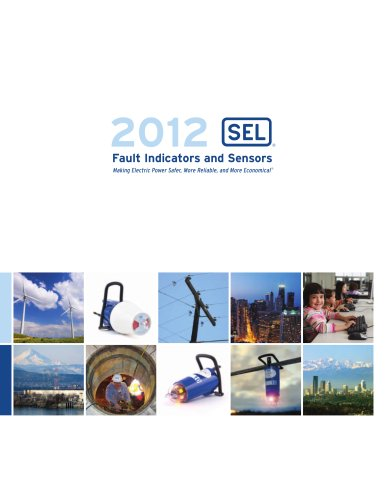 2012 Fault Indicators and Sensors Products Catalog