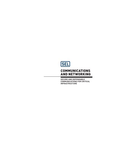 2014 Communications and Networking Catalog