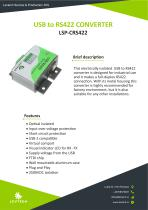 USB to RS422 Converter documentation