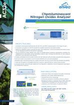 AC32e - air pollution NO-NO2-NOx analyzer e-Series envea