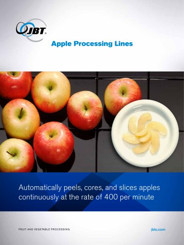 Apple Processing Lines