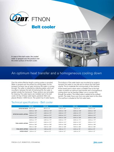 Belt Cooler