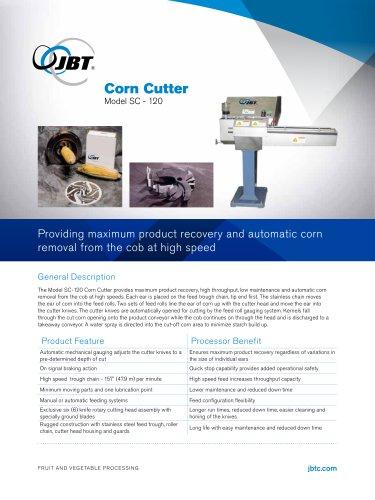 Corn Cutter Model SC-120