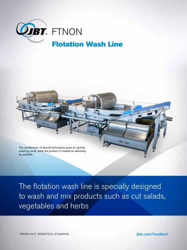 Flotation Wash Line