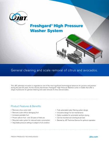 Freshgard® High Pressure Washer System