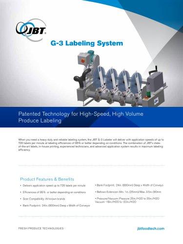 G-3 Labeling System