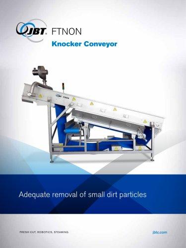 Knocker conveyor