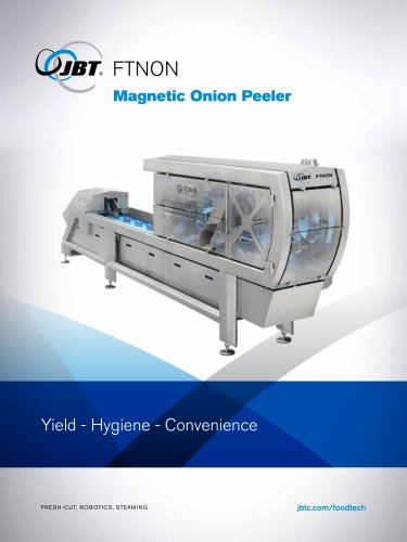 Magnetic Onion Peeler