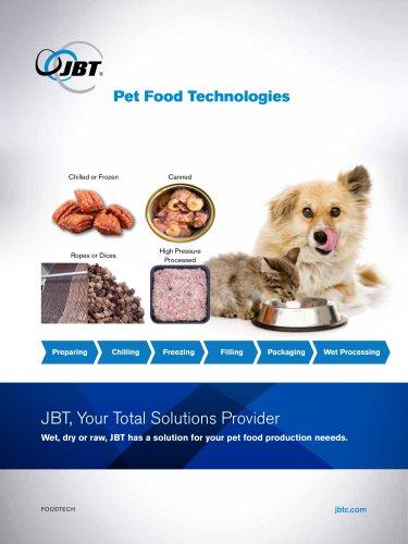 Pet Food Processing