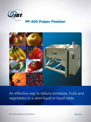 PF 200 Pulper Finisher