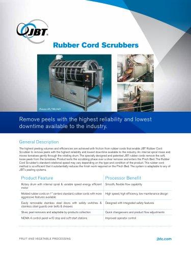 Rubber Cord Scrubber