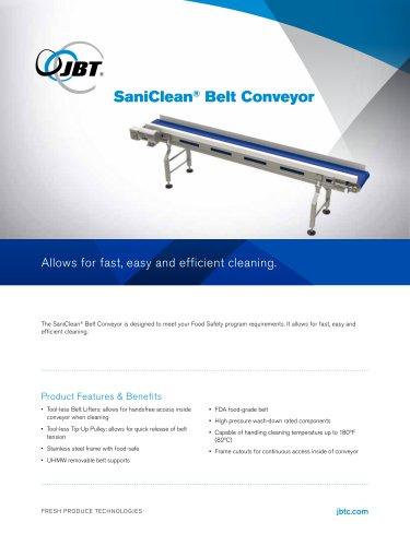 SaniClean® Belt Conveyor